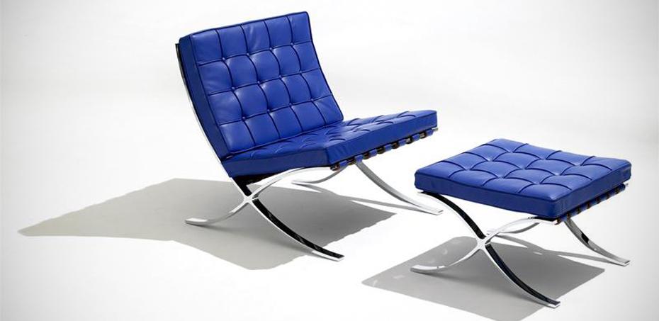 barcelona chair originale di knoll studio design mies van der rohe. Black Bedroom Furniture Sets. Home Design Ideas