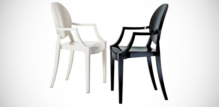 Philippe Starck Sedie.Louis Ghost Sedia Design Di Kartell