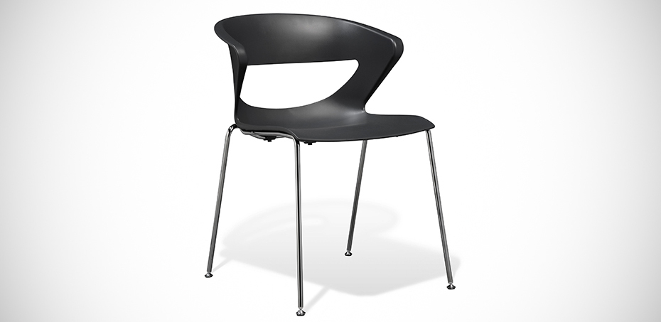 Poltroncina design per collettivit kicca di kastel for Kastel sedie
