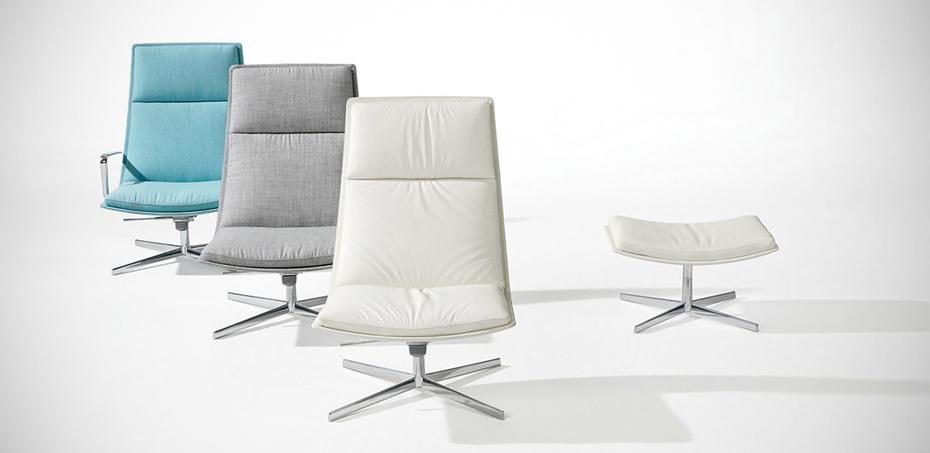 Sedia Lounge Catifa 70 Di Arper Design Lievore Altherr Molina