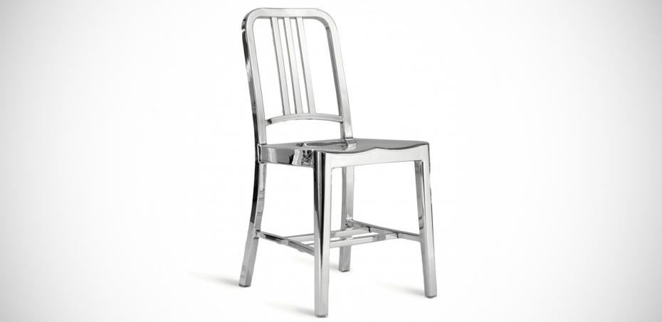 Sedie Alluminio Design.Sedia 1006 Navy Chair Di Emeco